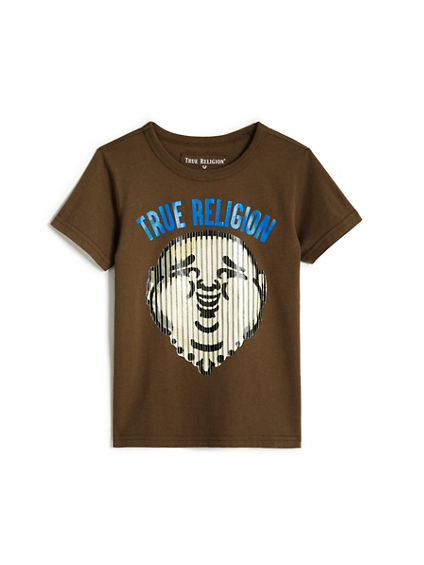 TODDLER/LITTLE KIDS BUDDHA STRIPE TEE