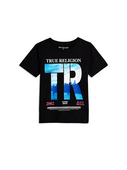 BOYS TR DIGITAL CITY TEE