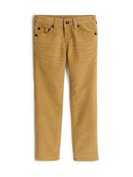 GENO CORDUROY TODDLER/LITTLE KIDS PANT
