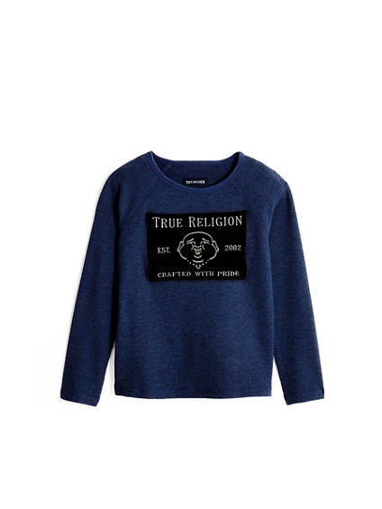 BUDDHA LONG SLEEVE TODDLER/LITTLE KIDS TEE