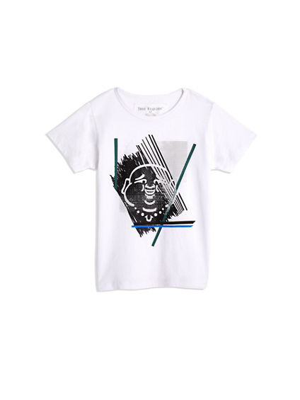 TODDLER/BIG KIDS BOYS SKETCH BUDDHA GRAPHIC TEE