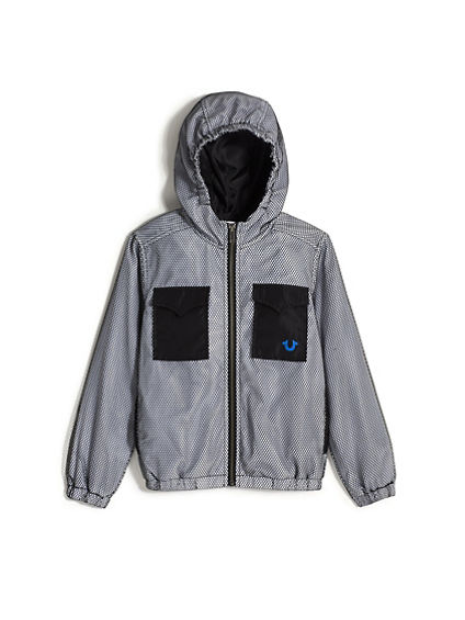 BOYS NYLON POCKET JACKET