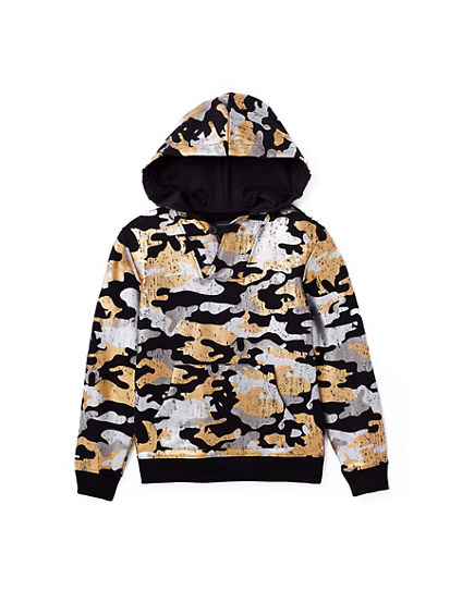 METALLIC CAMO TODDLER/LITTLE KIDS HOODIE