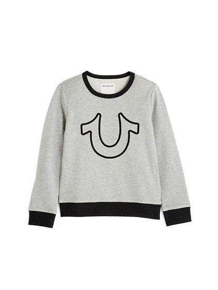 HORSESHOE  TODDLER/LITTLE KIDS PULLOVER