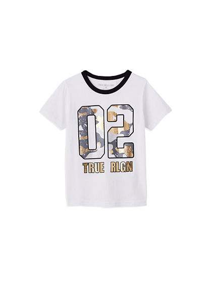 02 CAMO TODDLER/LITTLE KIDS TEE