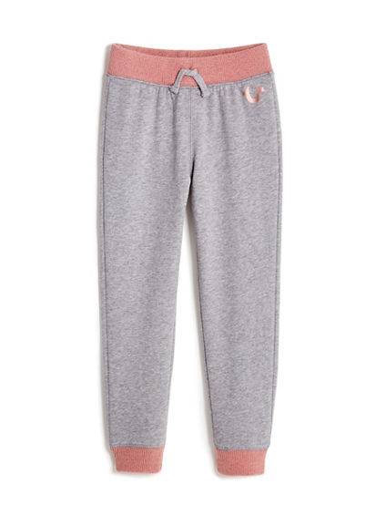 TODDLER/LITTLE KIDS HORSESHOE SWEATPANT