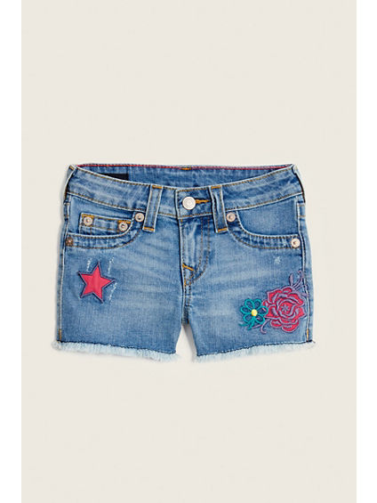 PATCHED KIDS SHORT