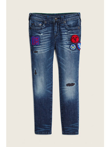 ROCCO KIDS JEAN W PATCHES