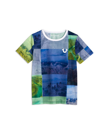 BOYS PHOTO BLOCK TEE