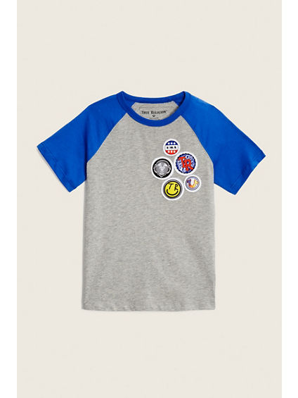 BUTTON KIDS TEE