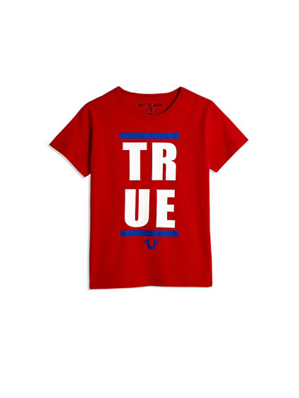 BOYS BLOCKED TRUE TEE