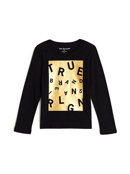 BOYS TRUE SCRAMBLE TEE