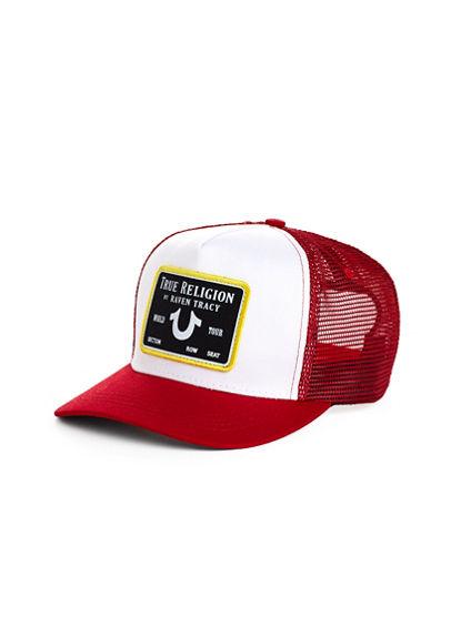 TR X RAVEN TRUCKER HAT
