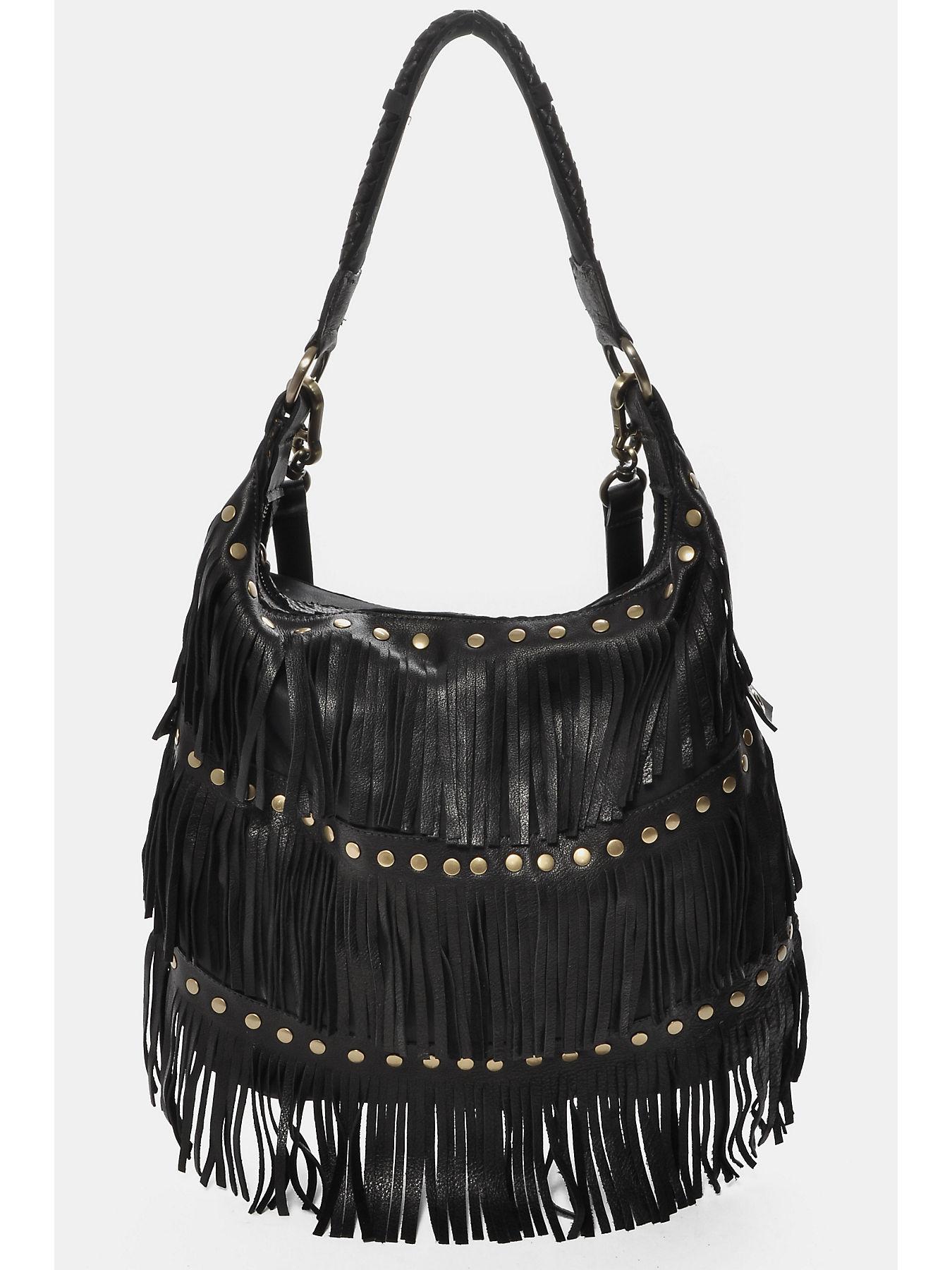 Shoulder Bag In Leather True Religion