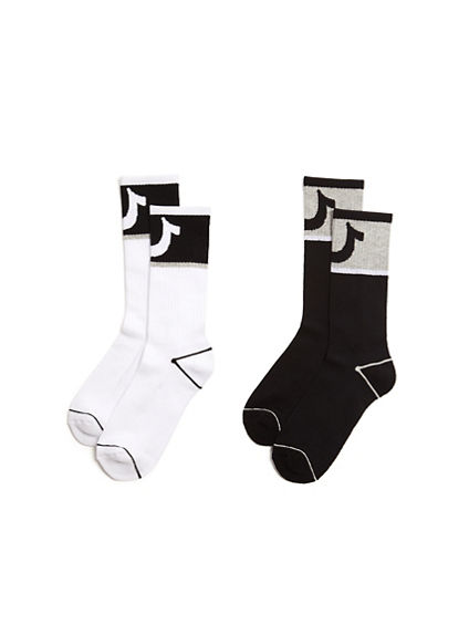 MENS U ACTIVE SOCKS - 2 PK