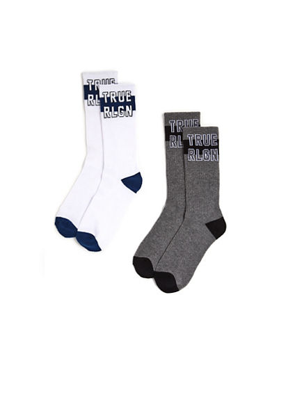 CUSHION CREW SOCK - 2PK