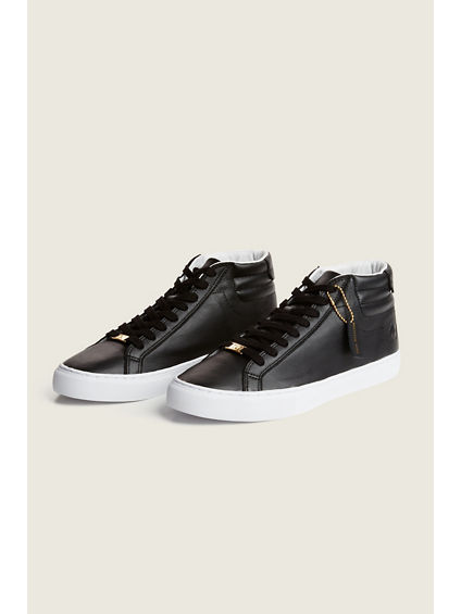 HEX V1 HIGH TOP LEATHER SNEAKER