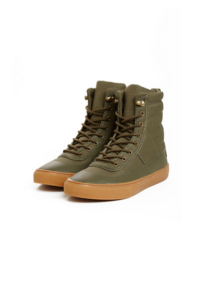 PHANTOM HIGH TOP LACE UP BOOT