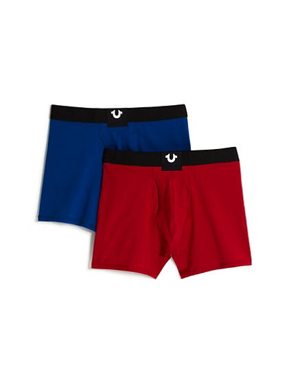 SOLID BOXER BRIEF - 2 PACK