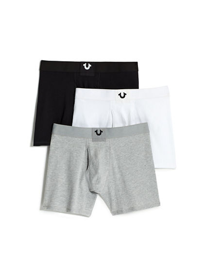 SOLID BOXER BRIEF - 3 PACK