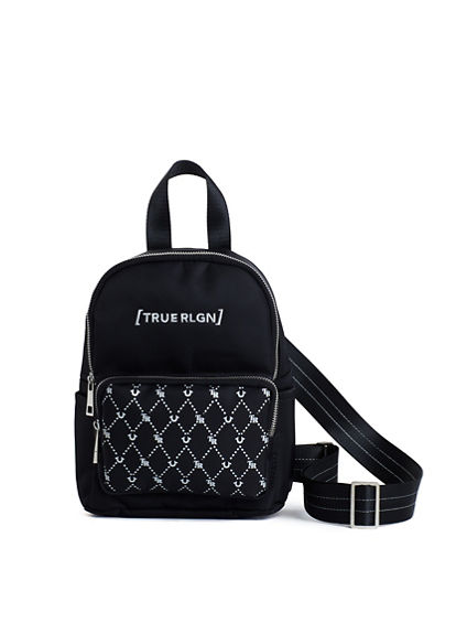WOMENS MONOGRAM MINI BACKPACK