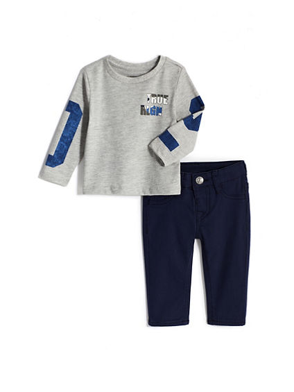BABY BOY TEE AND JEAN SET