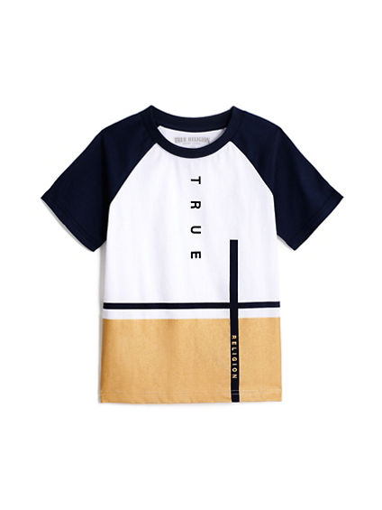 BOYS COLOR BLOCK TEE