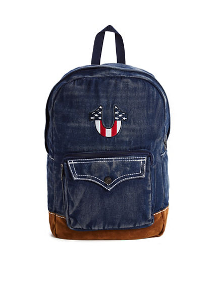 JULY 4TH FLAG U BACKPACK