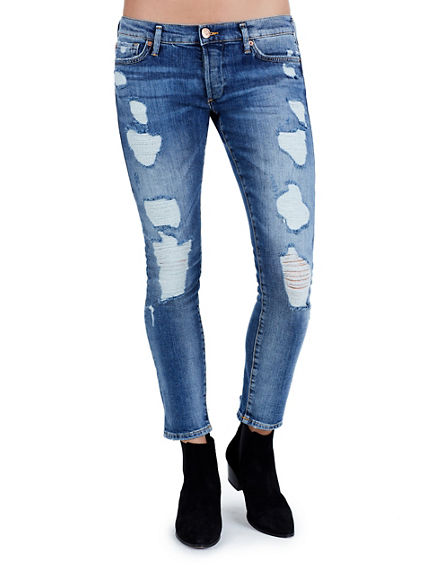 LIV RIPPED BOYFRIEND WOMENS JEAN