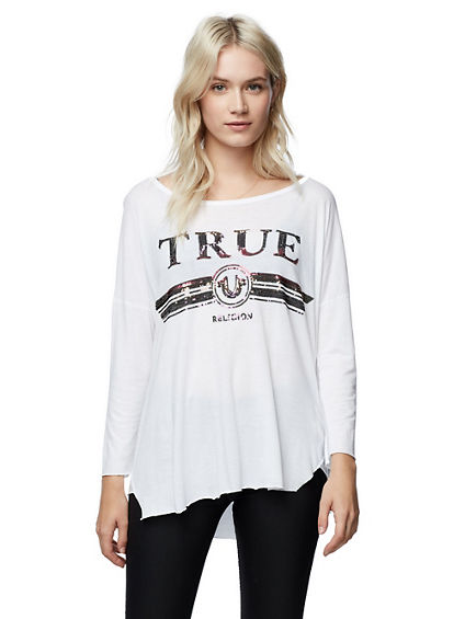 LONG SLEEVE LUXE LOGO SHIRT