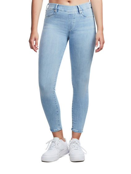 JEGGING BLUE STRETCH BLEACHED