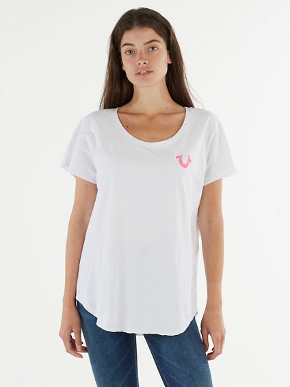 REFLECTIVE HORSESHOE TEE