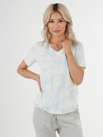 WATERCOLOR V TEE