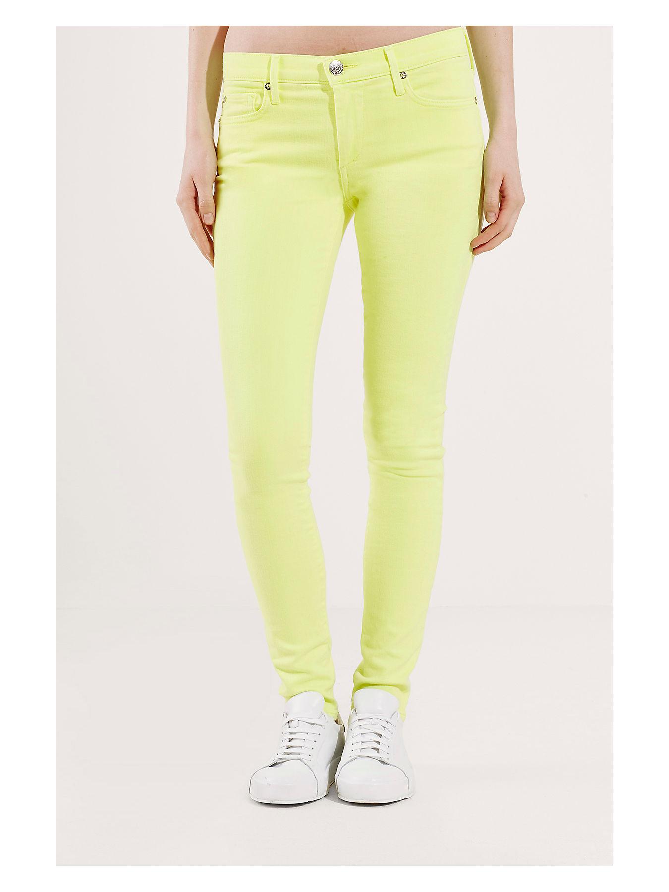True Religion HALLE Jeans Skinny Fit khaki Damen Sale