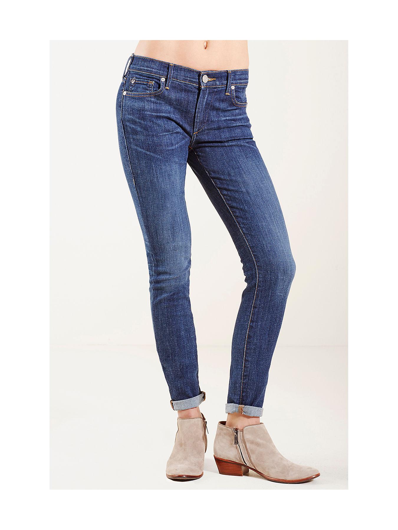 Halle Mid Rise Super Skinny Womens Jean