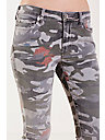 HALLE SUPER SKINNY CAMO FLORAL WOMENS JEAN