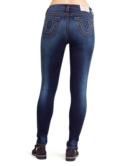 WOMEN'S SUPER SKINNY FIT HIGH RISE JEAN