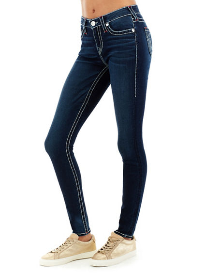 WOMEN'S SUPER SKINNY FIT BIG T JEAN
