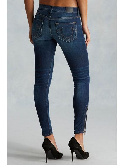 Womens Halle Black Skinny Jeans True Religion AOnbVXT