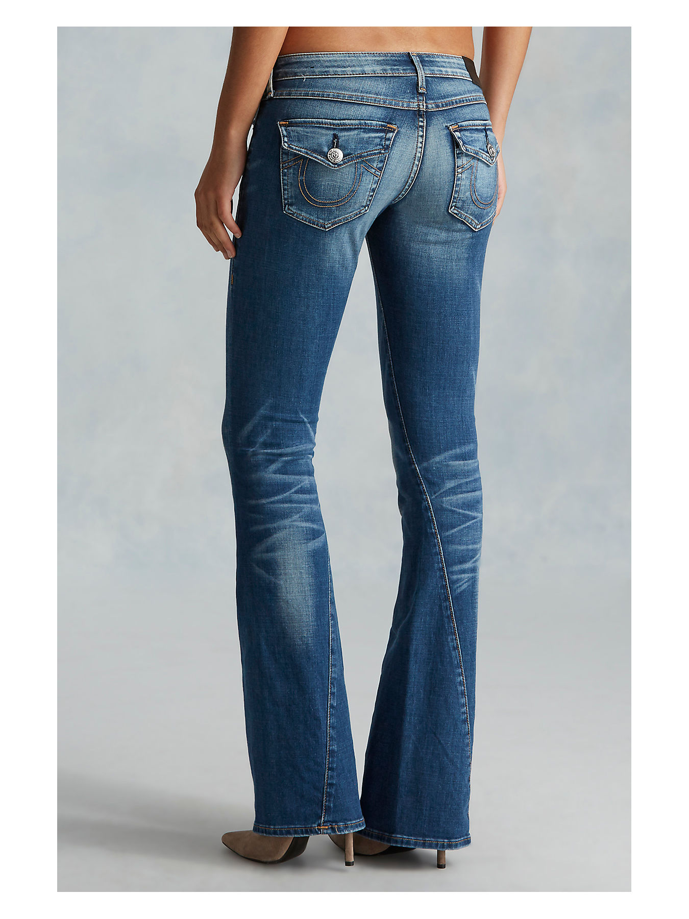 7a5b7ac8a4b7c Flare Leg Jeans - Low Rise Flare Jeans - True Religion