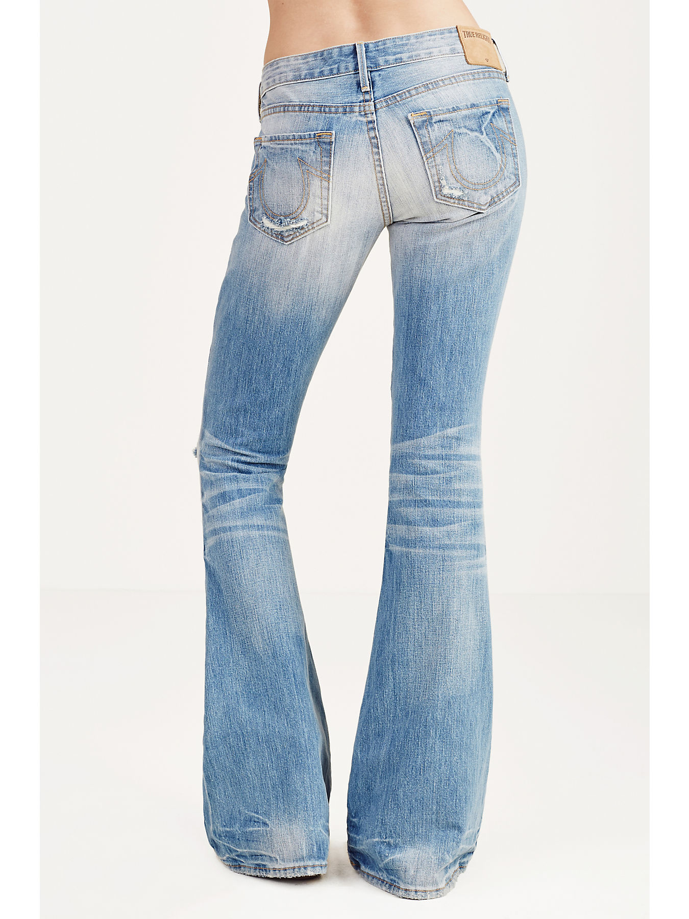 size 40 world-wide selection of browse latest collections KARLIE LOW RISE BELL BOTTOM WOMENS JEAN - True Religion
