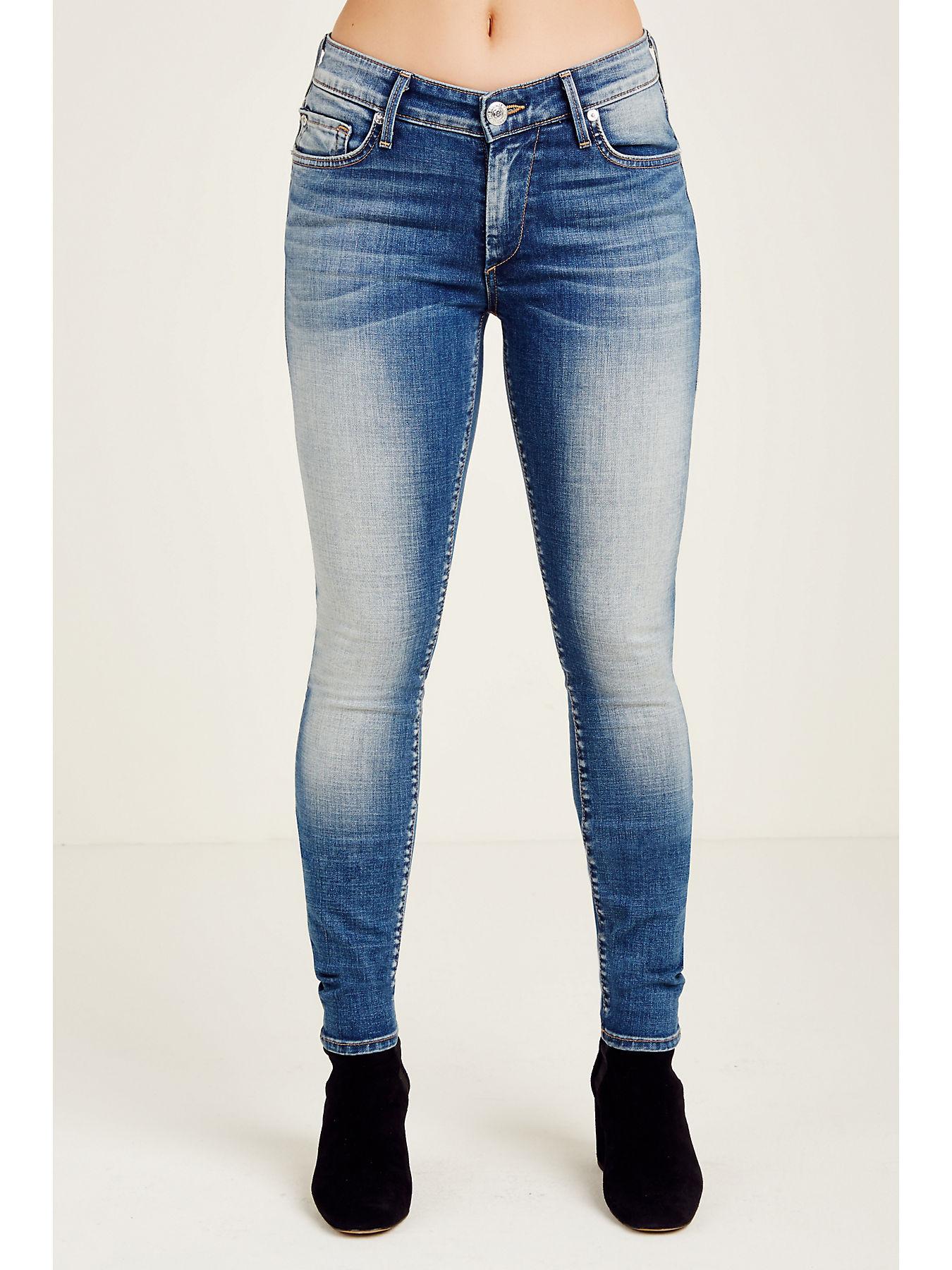 7e58294bf5 Jennie Curvy Mid Rise Skinny Women's Jeans | True Religion