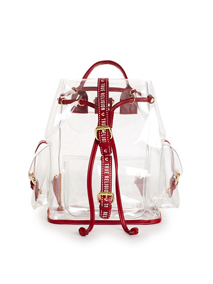 WOMENS CLEAR BACKPACK