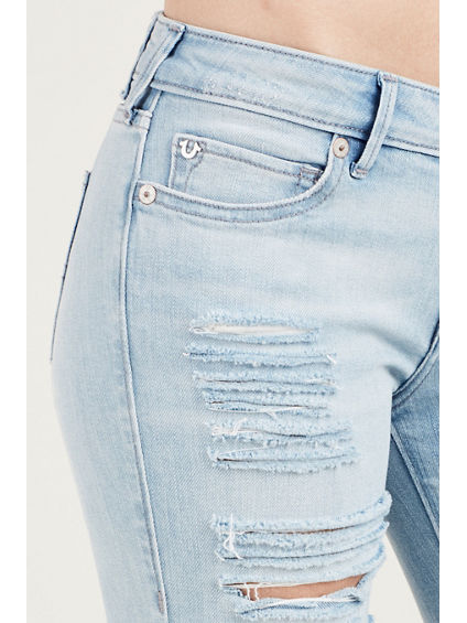 CASEY LOW RISE SUPER SKINNY RIPPED WOMENS JEAN