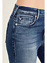 HALLE HIGH RISE SUPER SKINNY WOMENS JEAN