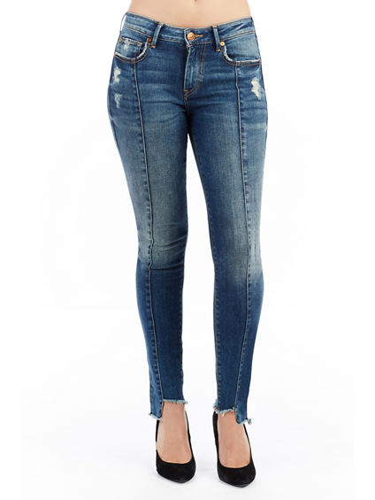 JENNIE FASHION WOMENS SKINNY JEANS