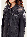 WOMENS DESTROYED DANNI DENIM JACKET