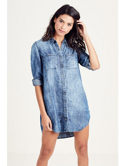 RELAXED WOMENS UTILITY DRESS