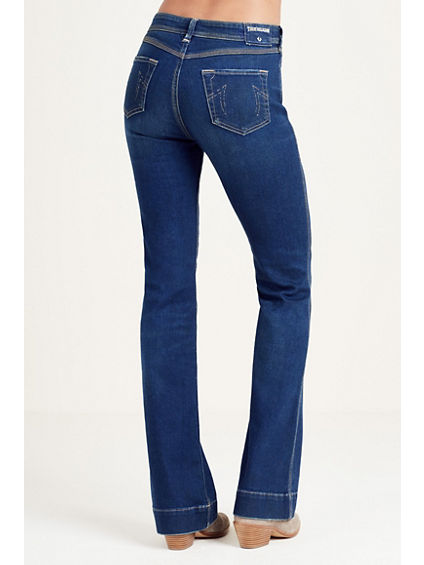 Nikki Mid Rise Flare Jeans True Religion Low Price Fee Shipping Free Shipping Outlet Sast Sale Sale Online KcnNCGW