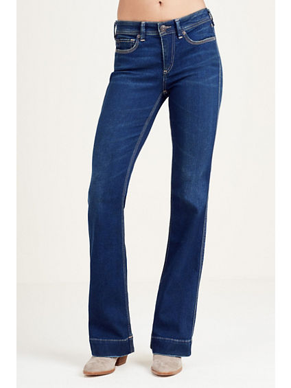 NIKKI MID RISE FLARE WOMENS JEAN